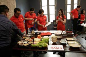 icube events_aps corporate retreat 2017 team building acitivity masterchef challenge team 5