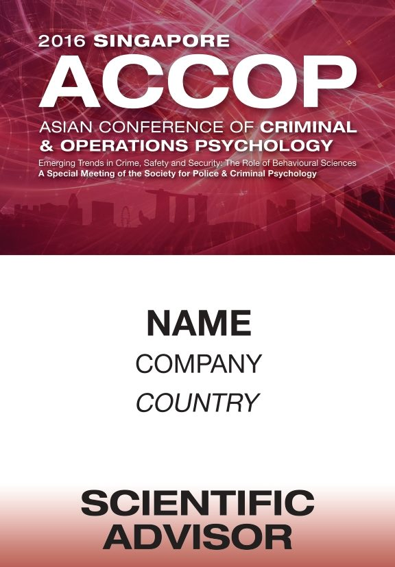 icube events_event collateral accop 2016 name badge design