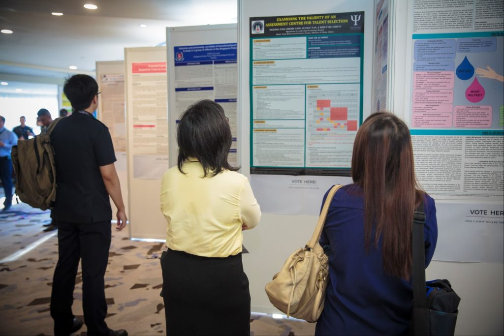 icube events_accop 2016 exhibition panels with scientific posters