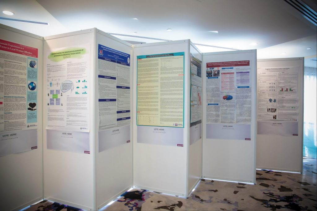 icube events_accop 2016 exhibition panels with posters