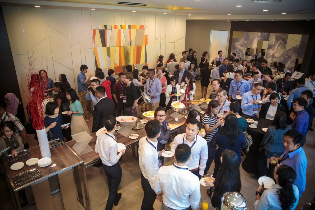 icube events_accop 2016 main conference lunch buffet catering
