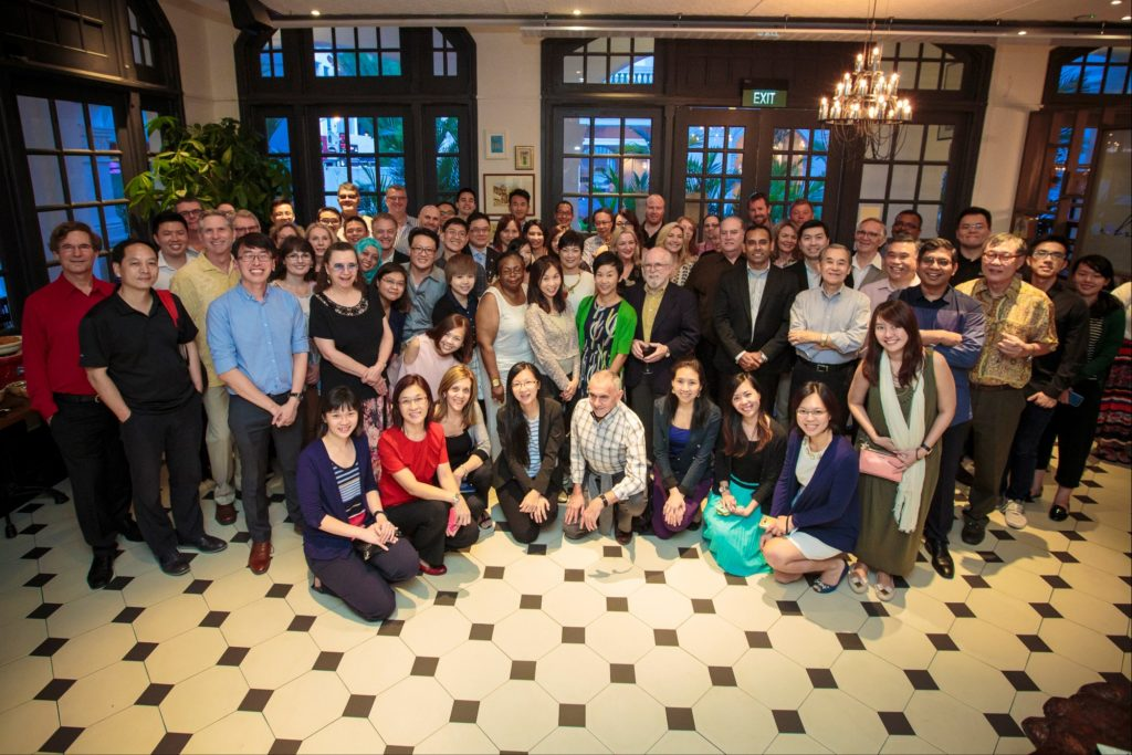 icube events_accop 2016 welcome reception group photo