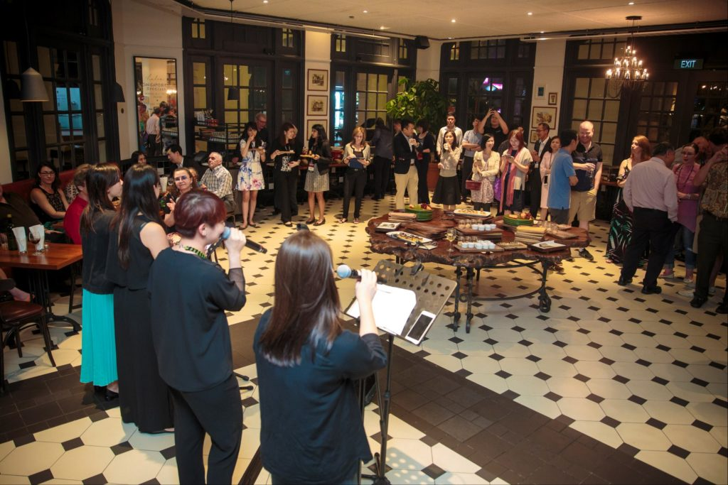 icube events_accop 2016 welcome reception live band performance