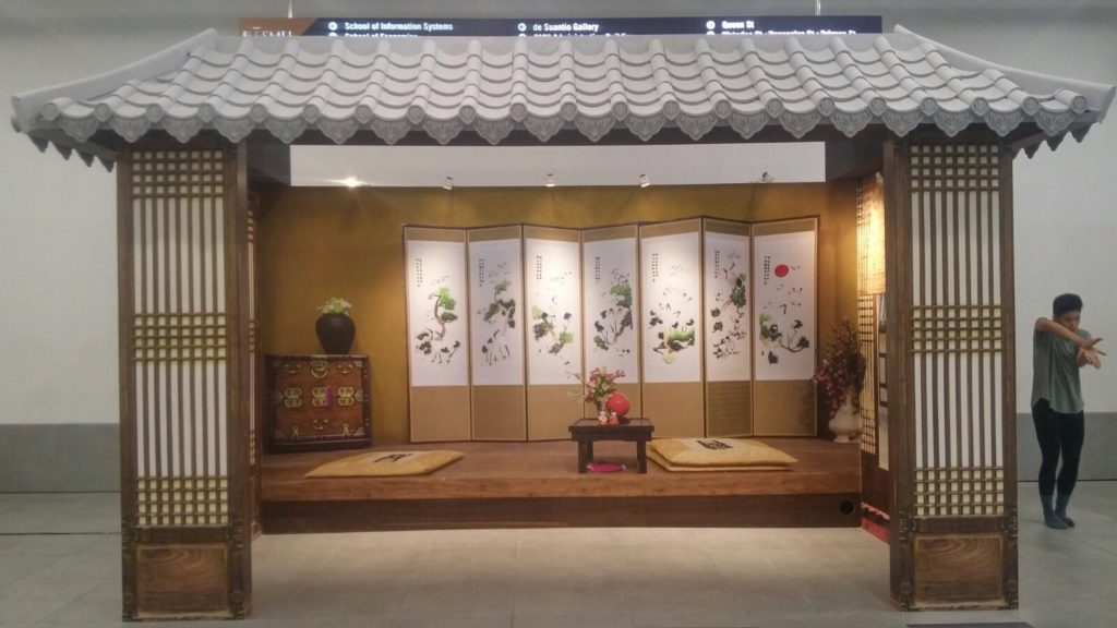 icube events_smu icon global village 2017 korean house structure