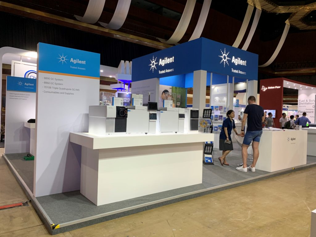 icube events_agilent labasia exhibition booth final product