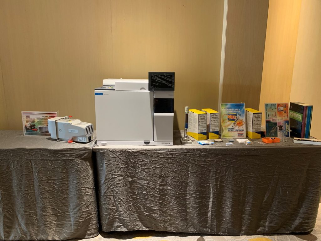 icube events_agilent laboratory innovations equipment showcase setup