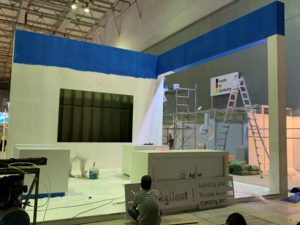 icube events_agilent analytica 2019 exhibition booth set up