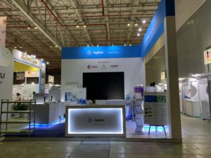icube events_agilent analytica 2019 exhibition booth final product