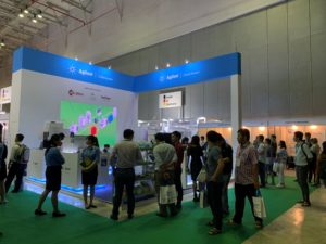 icube events_agilent analytica 2019 exhibition booth