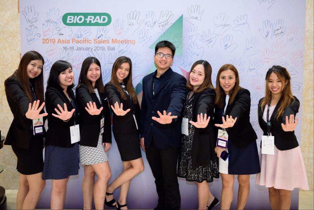 icube events_bio rad asia pacific sales meeting participants group photo