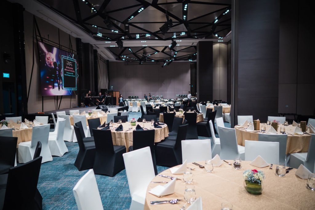 icube events_alfa laval family day 2018 ballroom setting