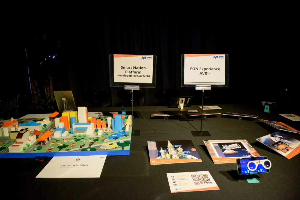 icube events_eon reality opening 2016 interactive table top exhibits