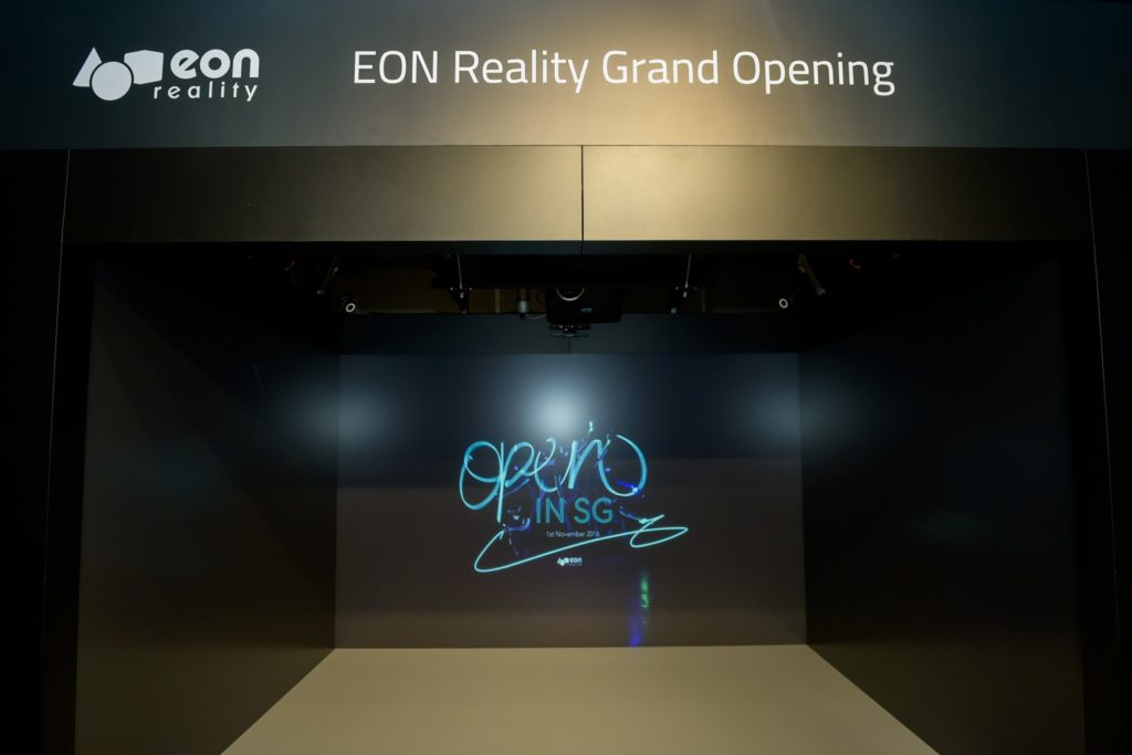 icube events_eon reality opening 2016 virtual backdrop