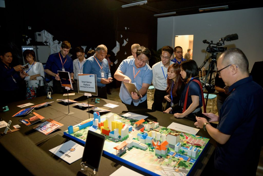 icube events_eon reality opening 2016 table top exhibits