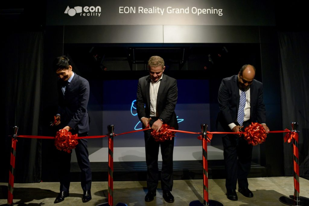 icube events_eon reality opening 2016 ribbon cutting ceremony