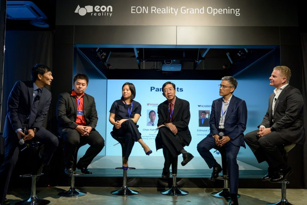 icube events_eon reality opening 2016 panelists discussion