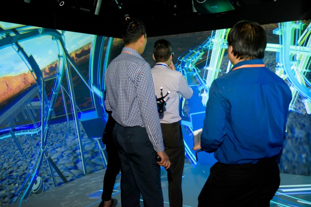 icube events_eon reality opening 2016 interactive wall exhibits