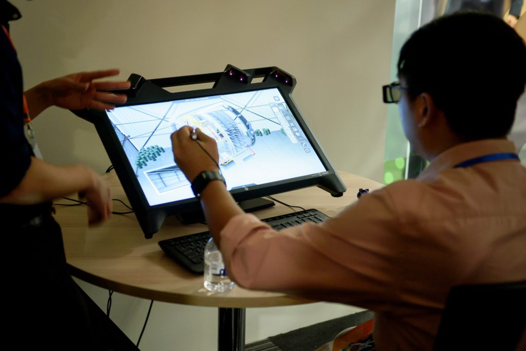 icube events_eon reality opening 2016 interactive hands on exhibits