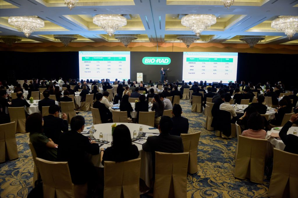 icube events_bio rad asia pacific sales meeting main conference