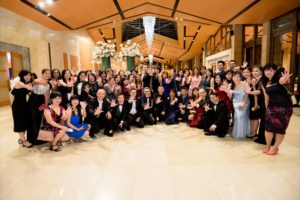 icube events_bio rad asia pacific sales meeting gala dinner participants group photo