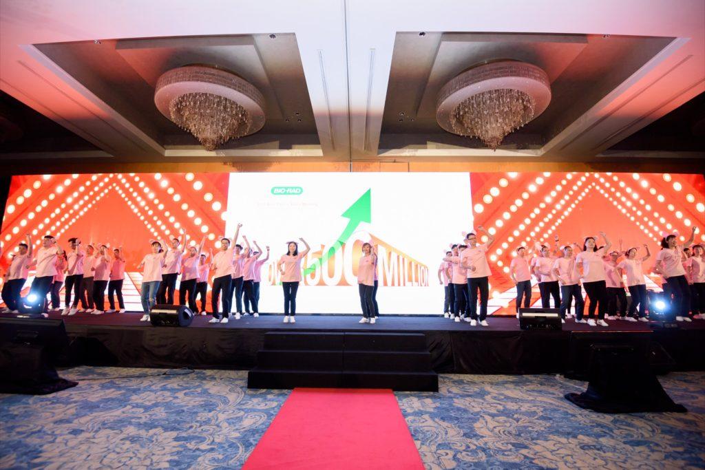 icube events_bio rad asia pacific sales meeting gala dinner staff performance