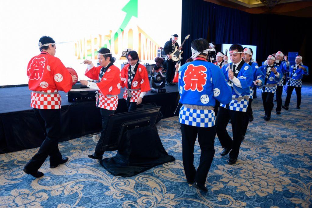 icube events_bio rad asia pacific sales meeting gala dinner staff performance japan