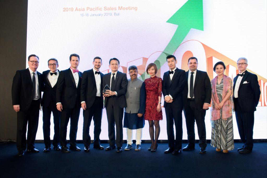 icube events_bio rad asia pacific sales meeting gala dinner executives photo