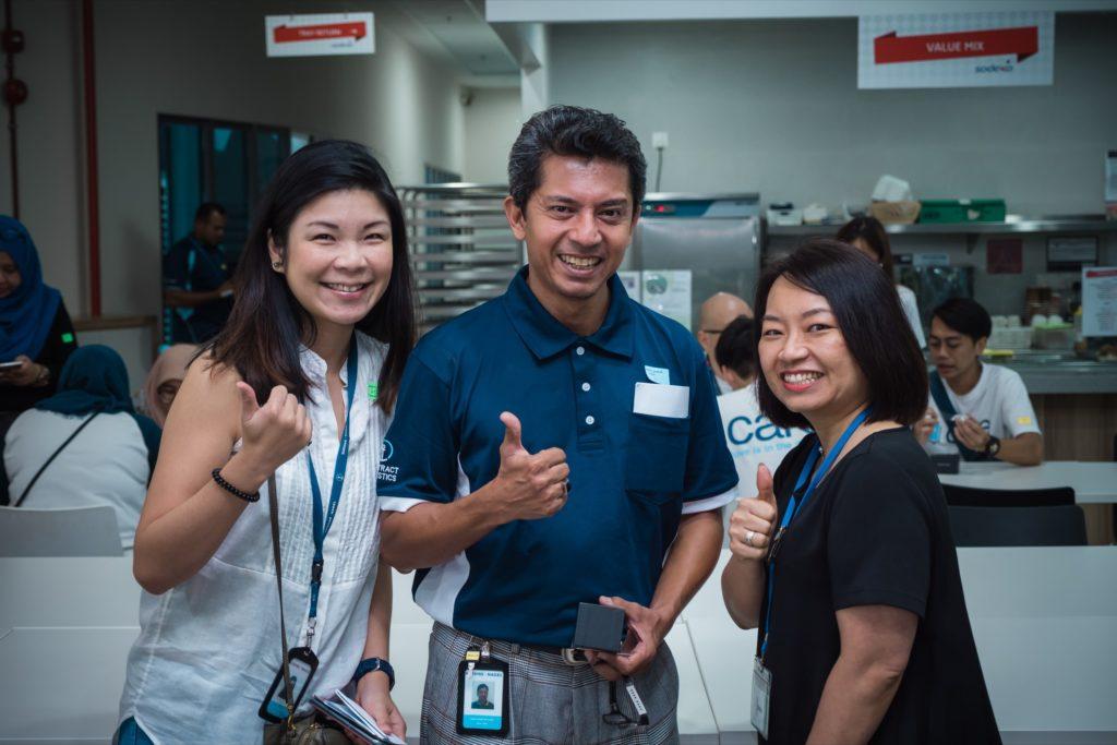 icube events_kuehne nagel next gen launch event participants group photo