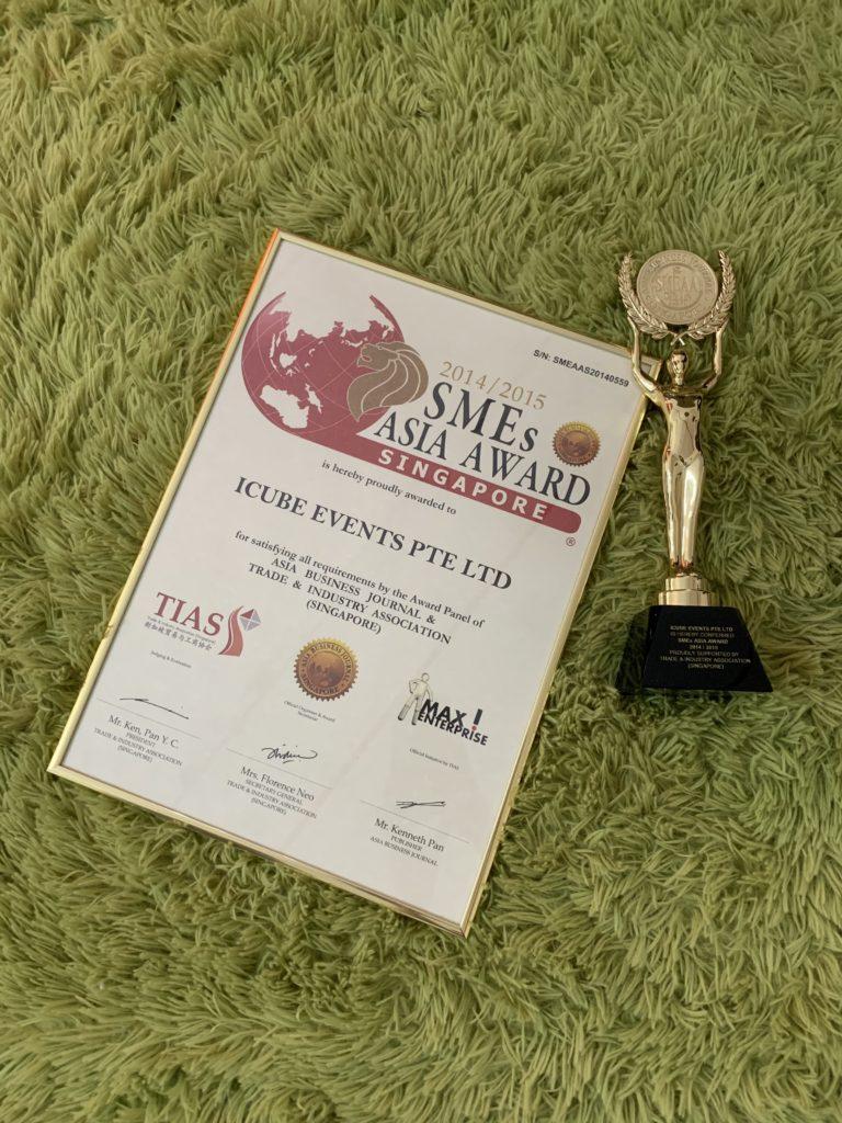 SMEs Asia Award Singapore 2014/2015