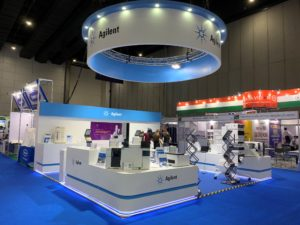 icube events_exhibition thailab booth completed
