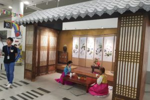 Production of life-sized Korean House structure with functional features