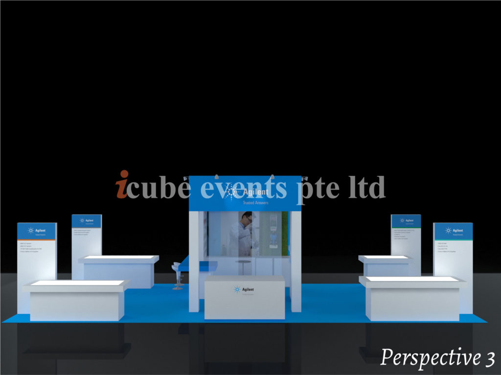 icube events_exhibition lab asia booth perspective 3