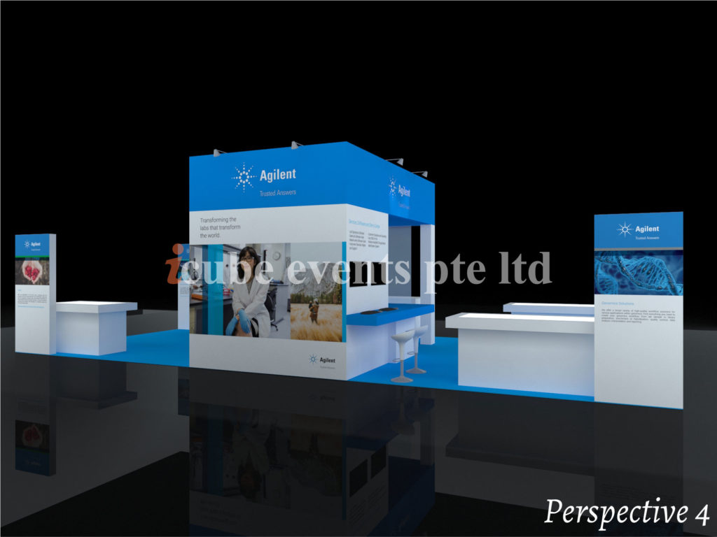 icube events_exhibition lab asia booth perspective 4
