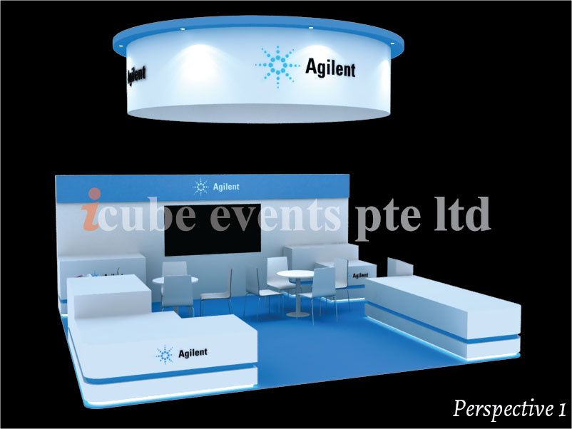 icube events_exhibition thailab booth perspective 1