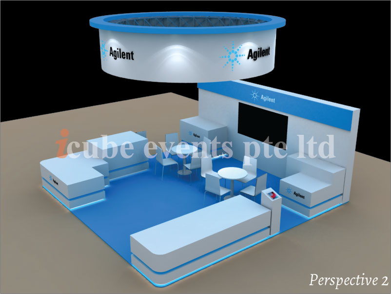 icube events_exhibition thailab booth perspective 2