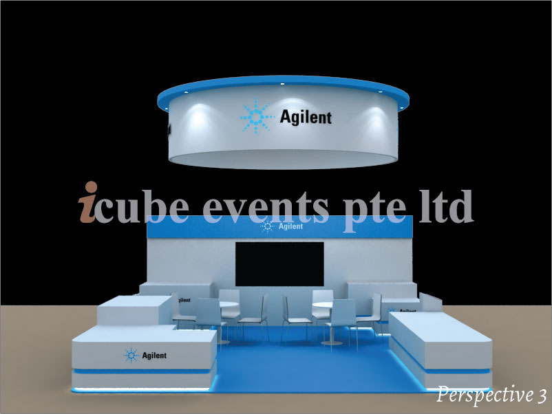 icube events_exhibition thailab booth perspective 3