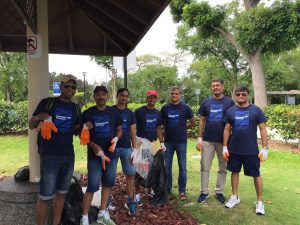 Bank of America (BOA) Coastal Clean-Up_2017_2