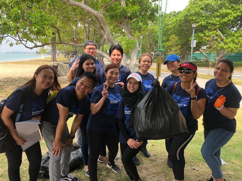 Bank of America (BOA) Coastal Clean-Up_2018_2