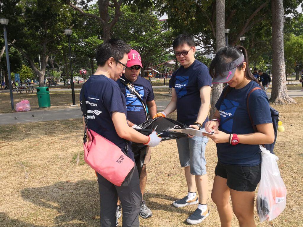 Bank of America (BOA) Coastal Clean-Up_2018_4
