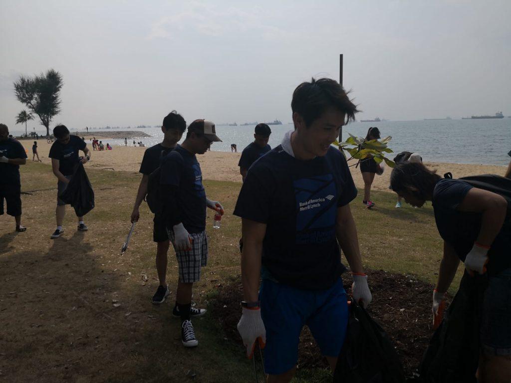 Bank of America (BOA) Coastal Clean-Up_2018_5