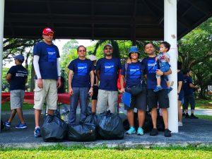 Bank of America (BOA) Coastal Clean-Up_2019_1